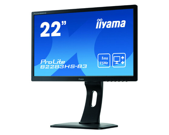 Монитор Iiyama B2283HS 21.5-inch черный