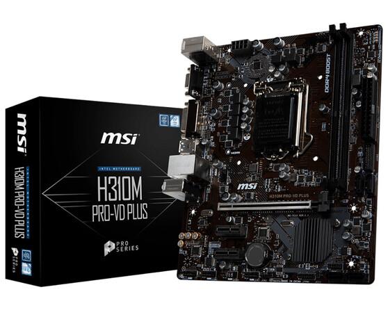 Материнская плата MSI Intel H310 H310M PRO-VD PLUS