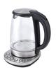Чайник электрический Kitfort КТ-618 1.7л. 2200Вт серебристый/черный (корпус: нержавеющая сталь/стекло) фото