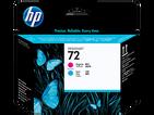 Печатающая головка голубой, пурпурный HP Inc. 72, C9383A фото
