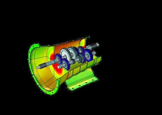 Модуль «Динамика многотельных систем» для программы COMSOL Multiphysics®