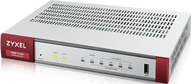 Межсетевой экран Zyxel ZyWALL USG FLEX 100 с набором подписок на 1 год (AS,AV,CF,IDP), 2xWAN GE (1xRJ-45 и 1xSFP), 1xOPT GE (LAN/WAN), 3xLAN/DMZ GE, 1