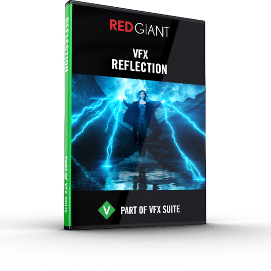 Red Giant Software Red Giant VFX Reflection (коммерческая лицензия), VFX-REFLECTION-F