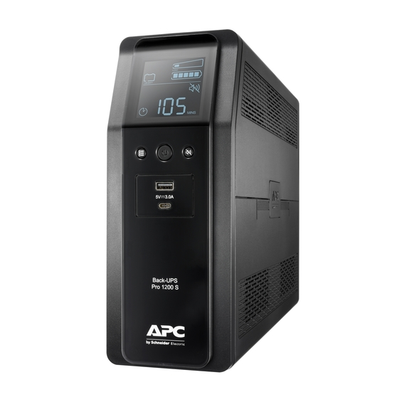 ИБП APC Back-UPS Pro BR 1200VA (BR1200SI)