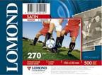 Купить Бумага белый Lomond A6/270г/м2/500л./тепло-белый атласная, 1106202, Белый