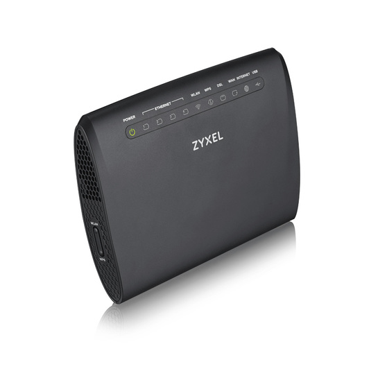 ZYXEL VMG3312-T20A Wireless N VDSL2 Combo WAN Gateway VDSL2 profile 17a over POTS Gateway, GbE WAN, 4FE LAN, 1 USB 2.0, WiFi 11n 2.4GHz 300Mbps, EU+UK