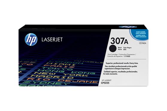 Тонер-картридж черный HP Inc. 307A, CE740A