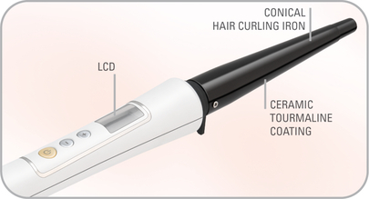 Щипцы для завивки волос Rowenta CF3345