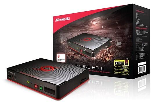 Карта видеозахвата Avermedia GAME CAPTURE HD II C285 внешний PDU