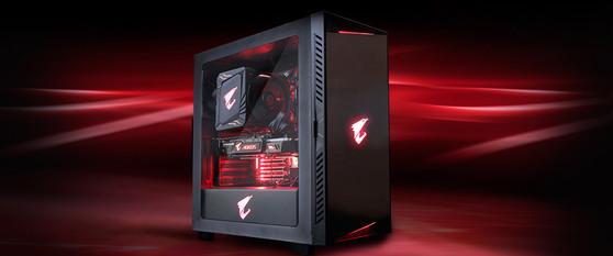 ПК AORUS AM4 RYZEN X8 R7-3700X / 32Gb DDR4 / 512Gb SSD / RTX 2070/ WIN 10 PRO + Подарок Клавиатура USB RUS AORUS K9 BLACK RU-RED GIGABYTE
