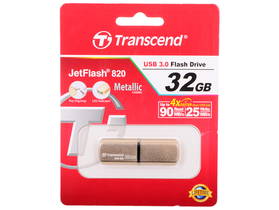 Флешка TRANSCEND JetFlash 820 32GB
