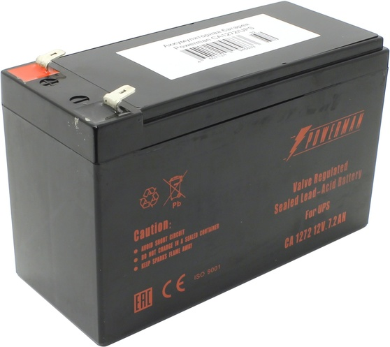 Сменная батарея для ИБП Powerman CA1272