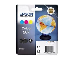 Картридж голубой, желтый, пурпурный Epson C13T26704010