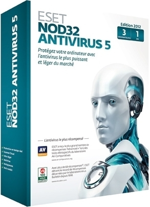 ESET NOD32 Antivirus Business Edition (лицензия на 1 месяц), for 3 users, NOD32-EEA-CL-1-3