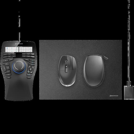 3D манипулятор 3DCONNEXION SpaceMouse Enterprise Kit 2 3DX-700083