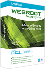 Webroot SecureAnywhere AntiVirus for PCs and Macs