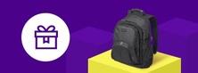 Купите ноутбук и получите рюкзак в подарок