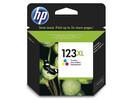 Картридж пурпурный, желтый, голубой HP Inc. 123XL, F6V18AE