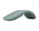 Купить Мышь Microsoft Corporation Wireless ARC ELG-00052, цвет светло-зеленый