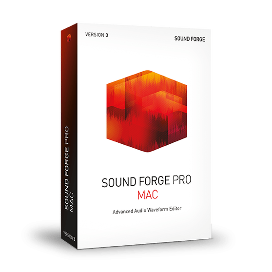 Magix MAGIX SOUND FORGE Professional Mac 3 (обновление EDU & GOV), для версии ESD, ANR007608EDU-U1
