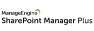 Zoho ManageEngine SharePoint Manager Plus.
