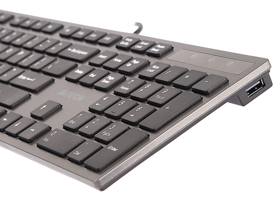 Клавиатура A4tech KV-300H, цвет серый