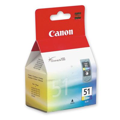 Картридж голубой, желтый, пурпурный Canon CL-51, 0618B001