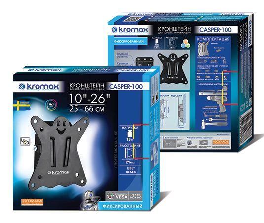 Кронштейн Kromax CASPER-100