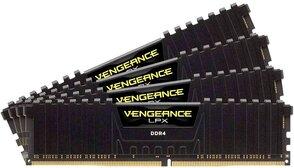 Оперативная память Corsair Desktop DDR4 3200МГц 4x16Gb, CMK64GX4M4C3200C16, RTL