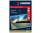 Купить Бумага белый Lomond A4/270г/м2/20л./белый высокоглянцевое, 1106100, Белый