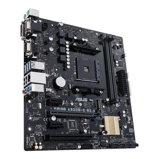 Материнская плата ASUS AMD A320 PRIME A320M-C