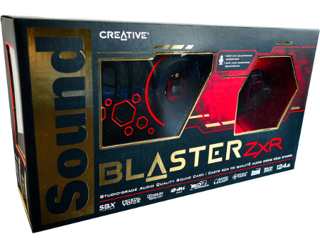 Звуковая карта CREATIVE PCI-E Sound Blaster ZX