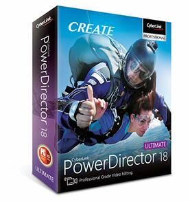 CyberLink Corporation Cyberlink PowerDirector 17 (лицензия Ultra), PDR17USULC1703
