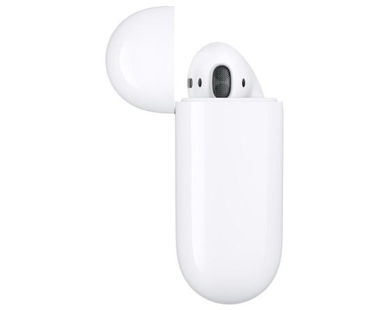 Наушники Apple AirPods 2 (2019) в футляре с возможностью беспроводной зарядки