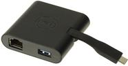 Dell™ Adapter DA200 (USB-C — HDMI/VGA/Ethernet/USB 3.0) фото