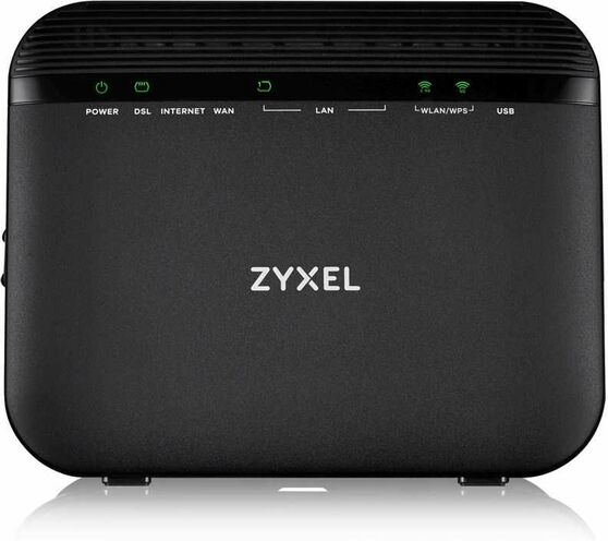 VMG3925-B10C Dual Band Wireless AC/N VDSL2 Combo WAN Gigabit Gateway Wi-Fi роутер VDSL2/ADSL2+ Zyxel VMG3925-B10C, 2xWAN (GE RJ-45 и RJ-11), Annex A,
