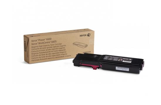 Phaser 6600/WorkCentre 6605, пурпурный тонер-картридж повышенной емкости