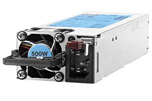 Блок питания Hewlett Packard Enterprise Platinum 500W
