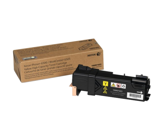 Phaser 6500/WorkCentre 6505, желтый тонер-картридж повышенной емкости