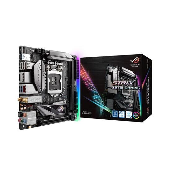 Материнская плата ASUS Intel Z270 STRIX Z270I GAMING
