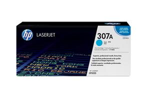 Тонер-картридж голубой HP Inc. CE741A