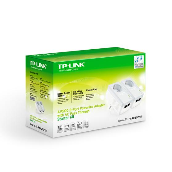 Адаптер PowerLine TP-LINK TL-PA4020PKIT