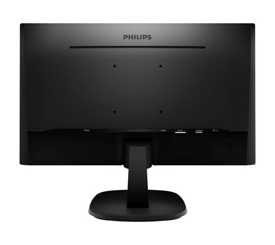 Монитор Philips 273V7QDSB 27.0-inch черный