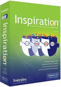 Inspiration Software Inspiration 9 IE Annual Home Use Licence, 24,001+ students, IS92-IE-SHU4W