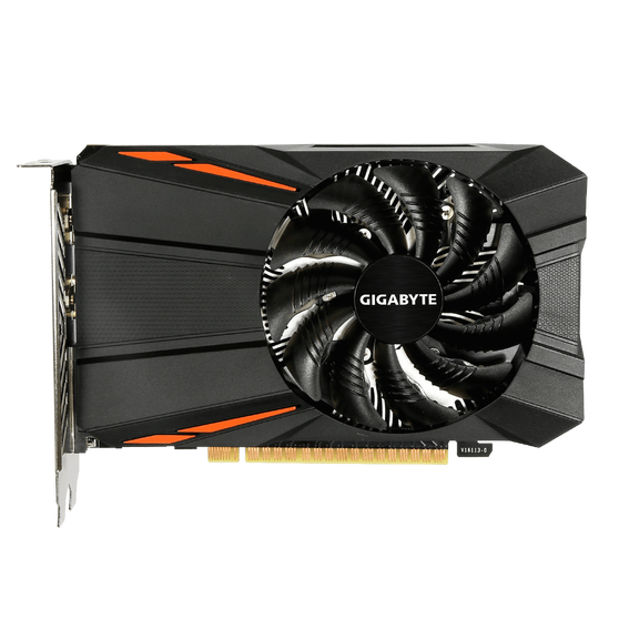 Видеокарта Gigabyte GeForce GTX 1050Ti 4 ΓБ Retail
