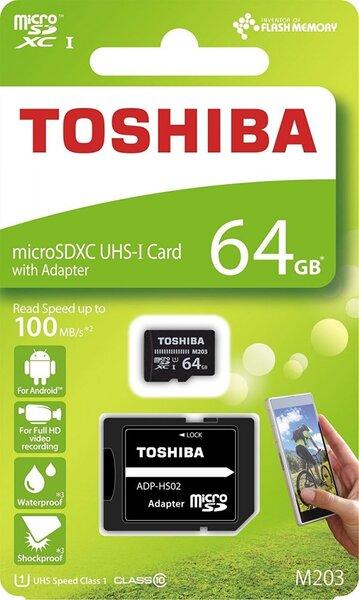 Карта памяти TOSHIBA microSDXC Class10