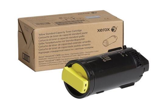 Фото товара Тонер-картридж для VersaLink C600/C605, желтый цвет