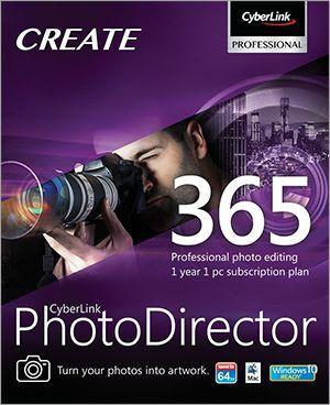 CyberLink Corporation Cyberlink PhotoDirector 365 (подписка up-to-date Corp & Gov), PHD365USDLC36503