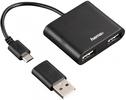USB-концентратор HAMA HUB 2порт.