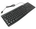 Клавиатура Logitech K200 920-008814, цвет черный